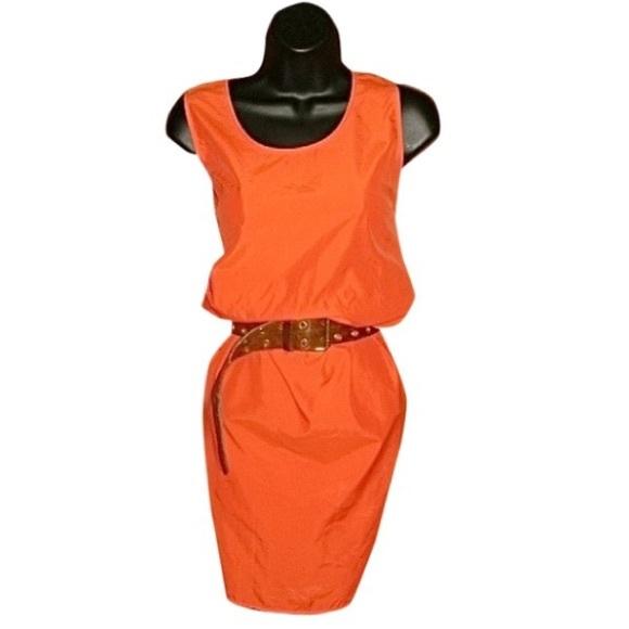 Calvin Klein Dresses & Skirts - Calvin Klein/Bergdorf Goodman Orange Dress